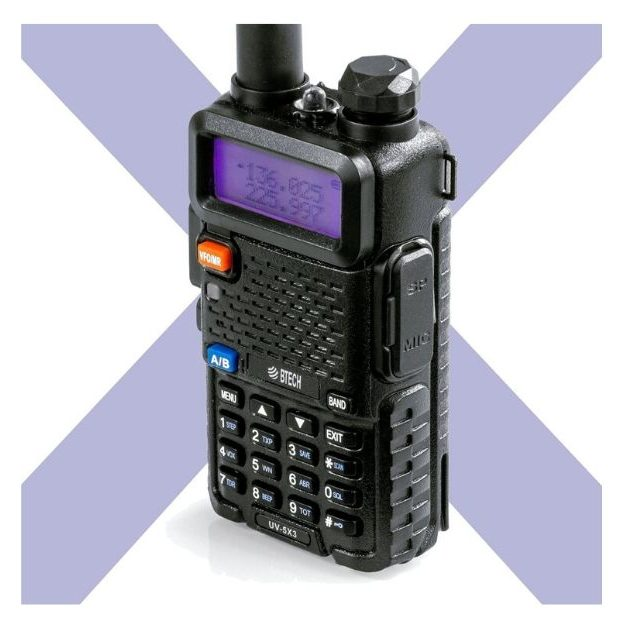 BTECH_UV-5X3 Tri-Band Radio