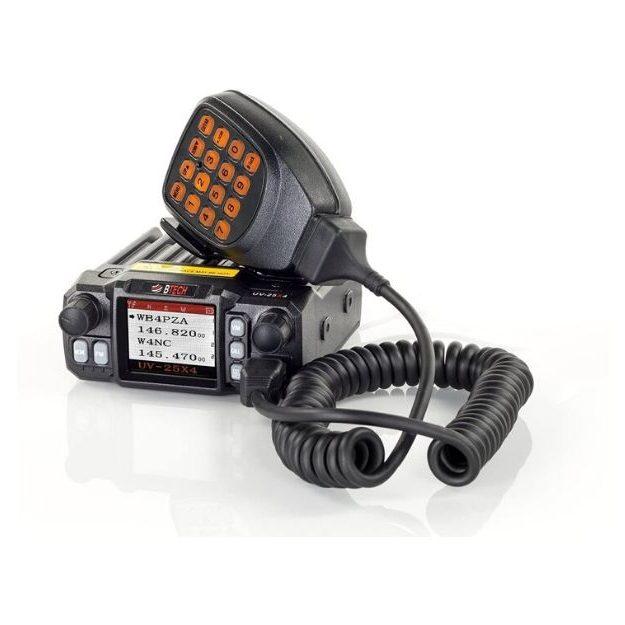 BTech Mini UV-25X4 Watt Mobile Radio