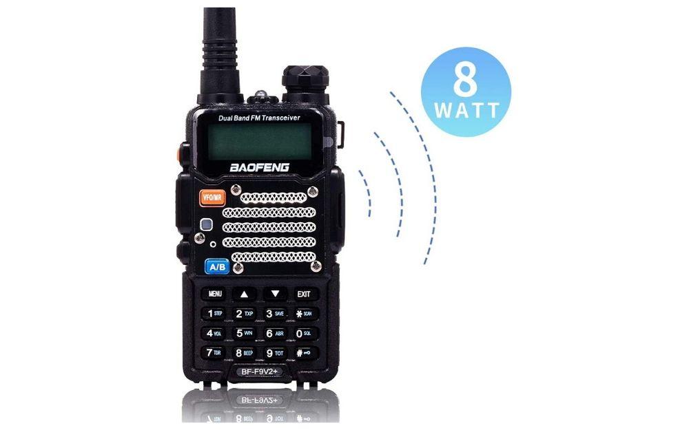 BaoFeng Two Way 8-Watt Dual Band Radio
