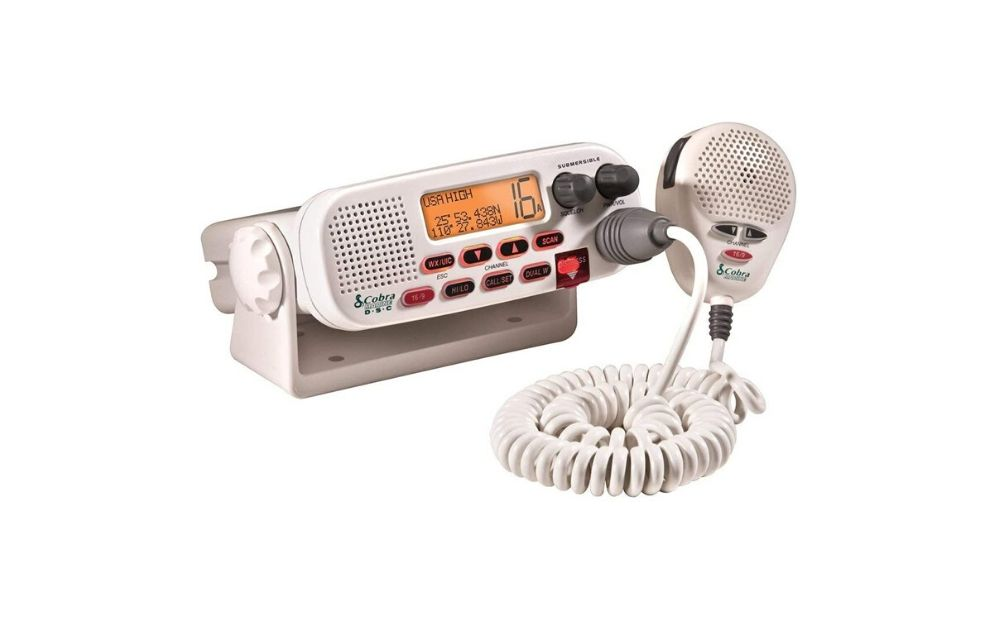 Cobra Fixed Mount MRF 45D VHF Marine Radio