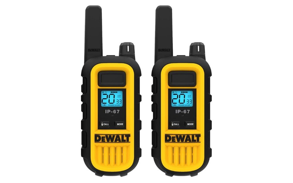 DEWALT DXFRS300 1 Watt Heavy Duty Walkie Talkies