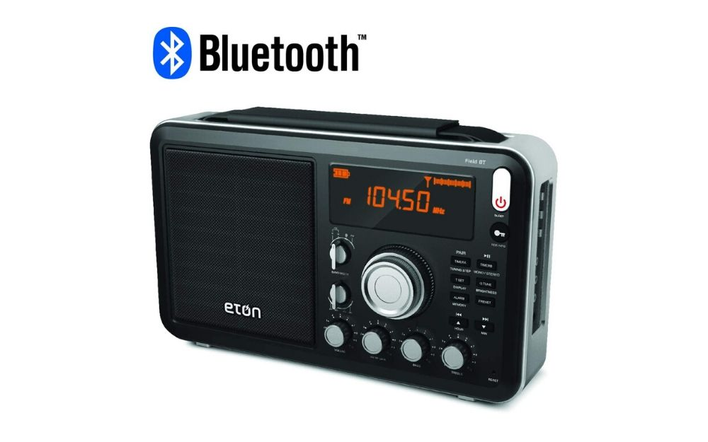 Eton Field Radio with Bluetooth & Fine Digital Tuning