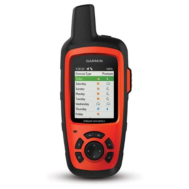 Garmin inReach Explorer+ Handheld Satellite Communicator