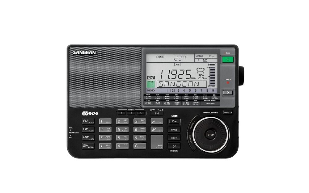 Sangean ATS-909X BK AMFMLWSW World Band Receiver (1)