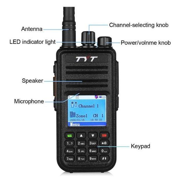TYT MD-380 - DMR_Moto TRBO ham Radio