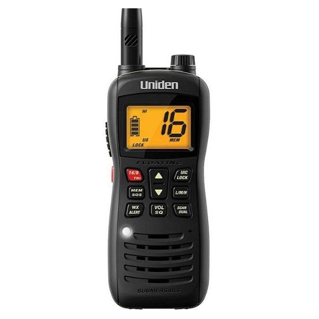 Uniden MHS126 Handheld Submersible VHF Marine Radio (1)