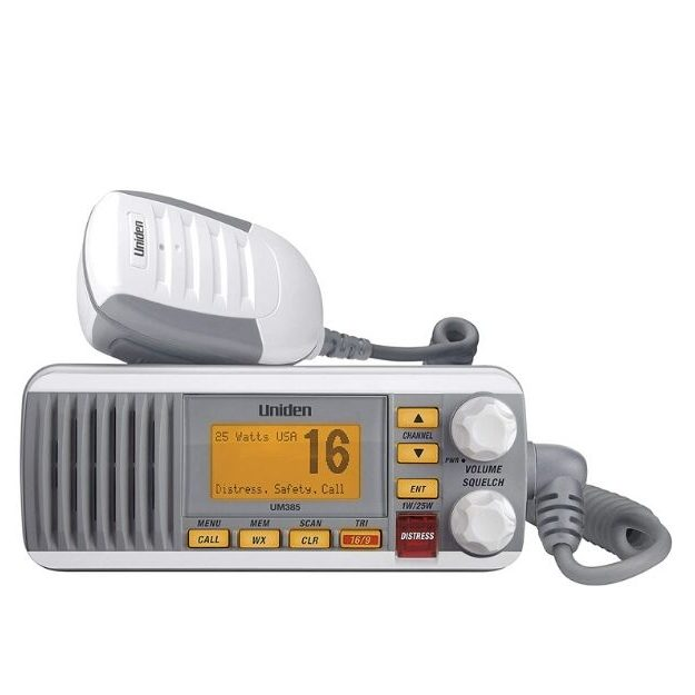 Uniden UM385 Fixed Mount Marine VHF Radio
