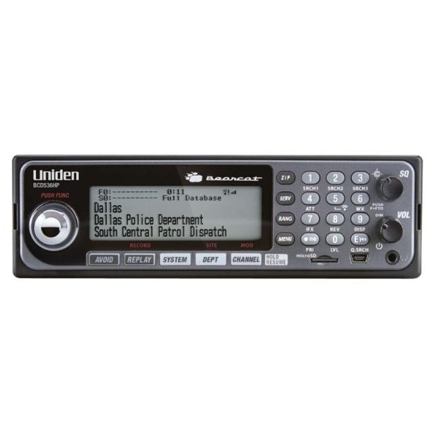 Uniden_BCD536HP Home Patrol Mobile Scanner