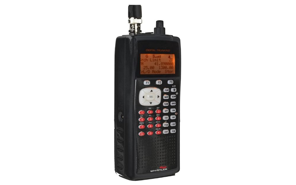 WS1040 Handheld Digital Scanner Radio