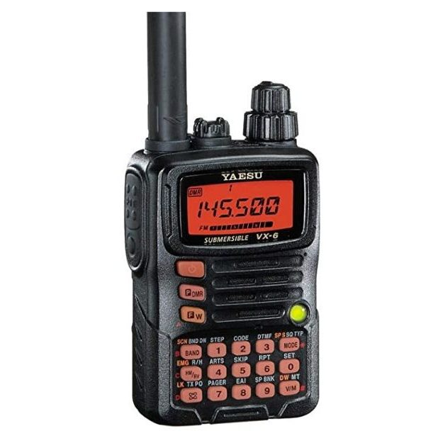 Yaesu VX-6R Submersible Amateur Ham Radio Transceiver (1)