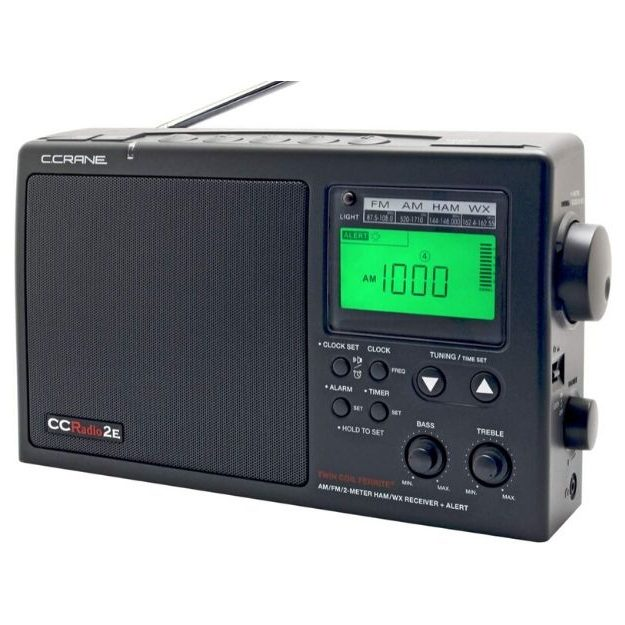 C. Crane - CCRadio-2E Enhanced Portable AM FM Weather