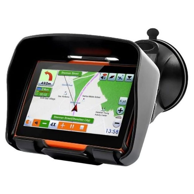 Koolertron - 4.3 Inch All Terrain Waterproof Motorcycle GPS