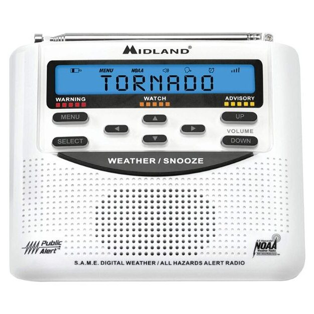 Midland - WR120B_WR120EZ - NOAA Emergency Weather Alert Radio