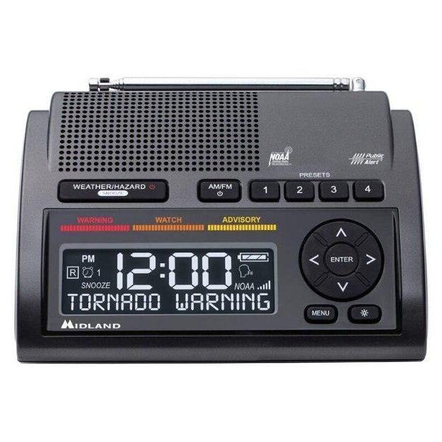 Midland - WR400 Deluxe NOAA Emergency Weather Alert Radio