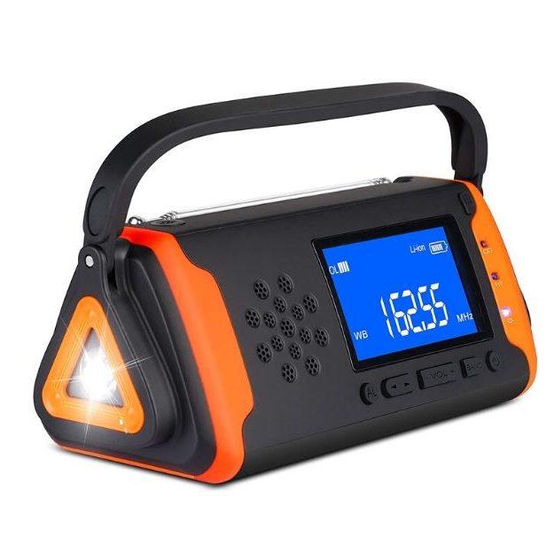 Outtdoor - Emergency Weather Crank Radio 4000mAh