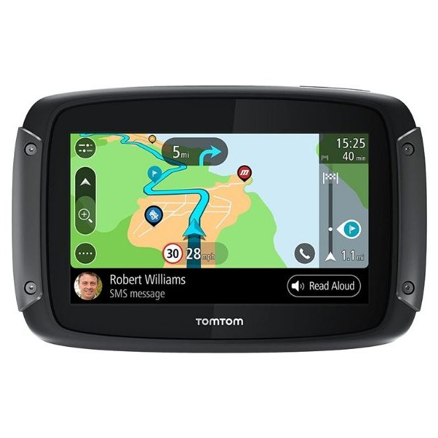 TomTom - Rider 550 Motorcycle GPS Navigation Device