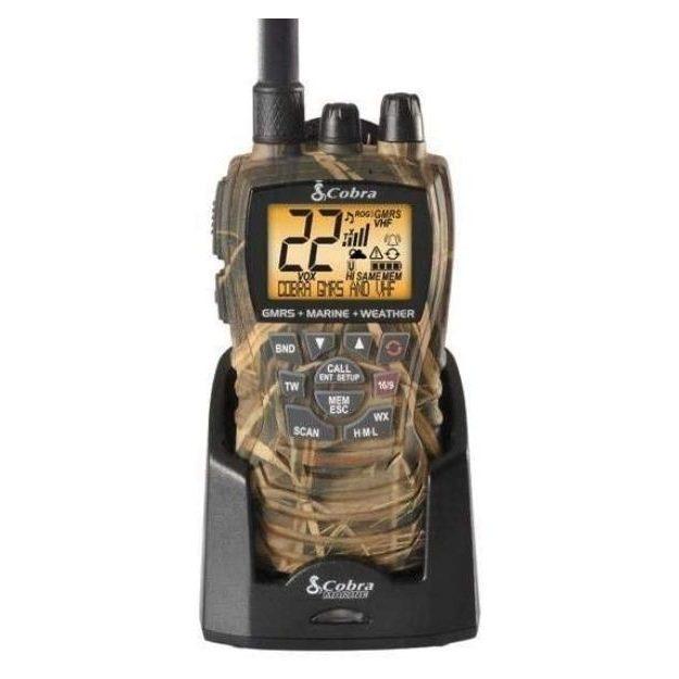 Cobra - MR HH450 CAMO Handheld Floating VHF Radio