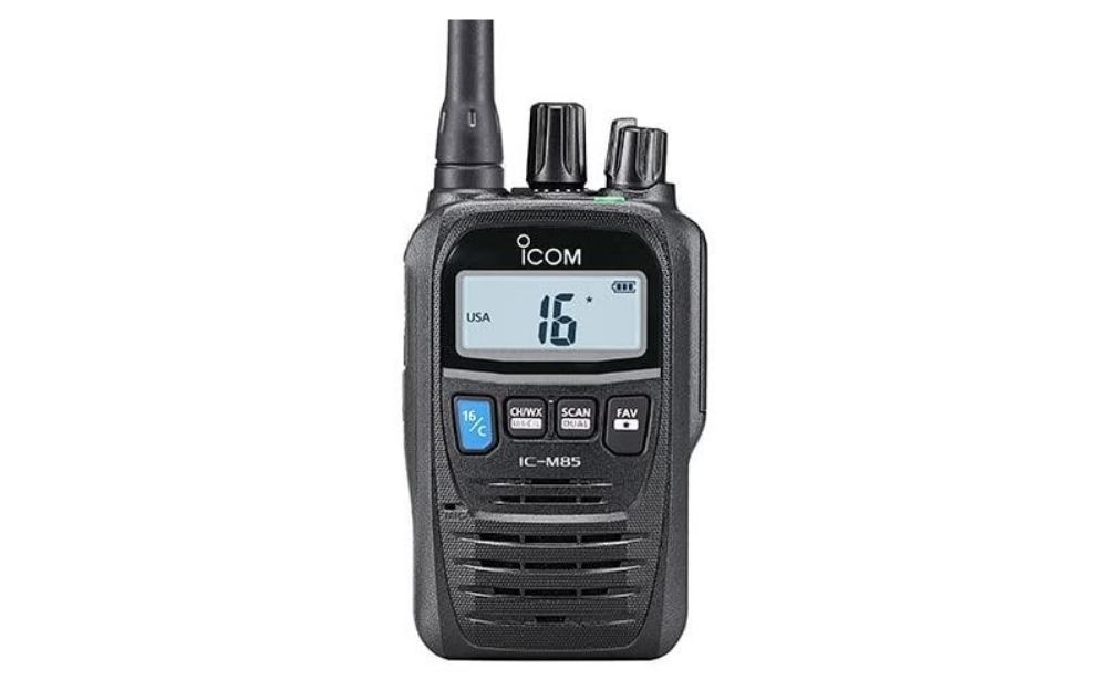 ICOM - M85 VHF-HH 5 Watt Compact with Land Mobile