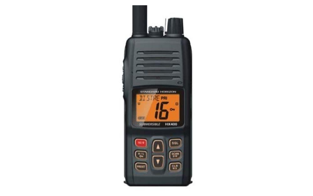 Standard Horizon - HX400 W_SBR-29LI Handheld VHF Marine Radio