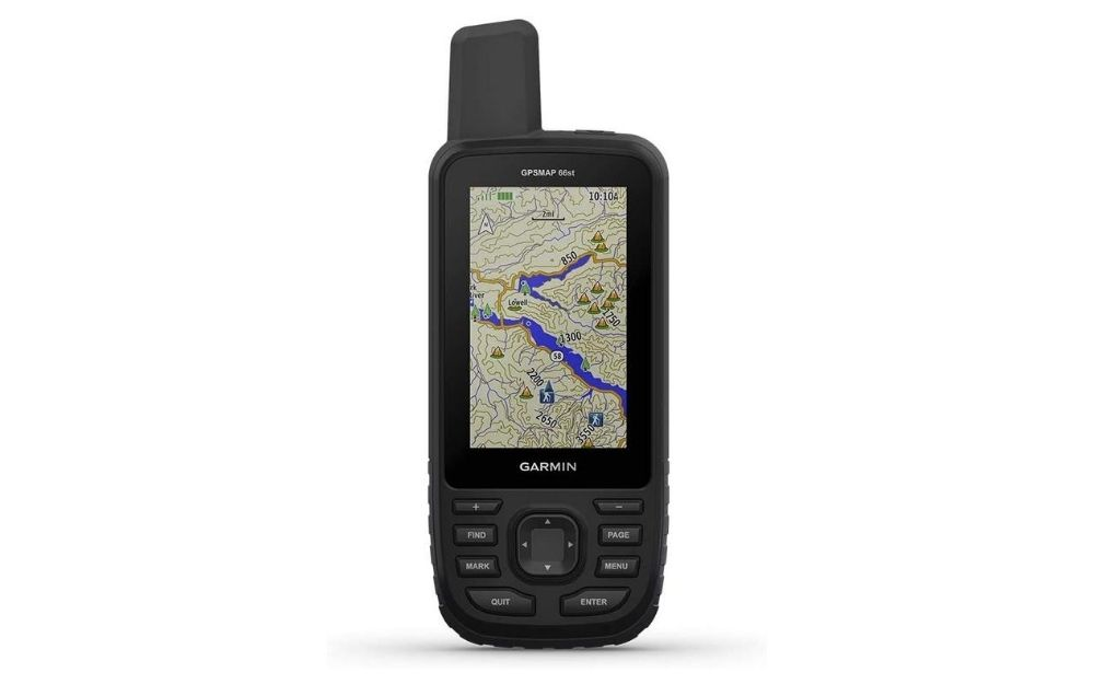 Garmin - GPSMAP 66st Handheld Hiking GPS