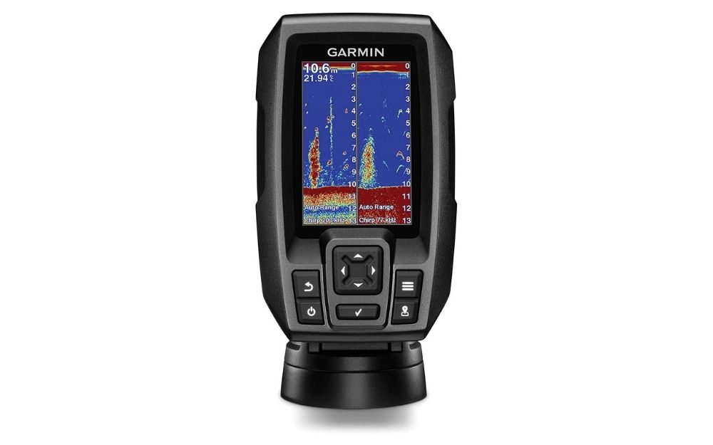 Garmin - Striker 4 GPS Fishfinder with Chirp Traditional Transducer