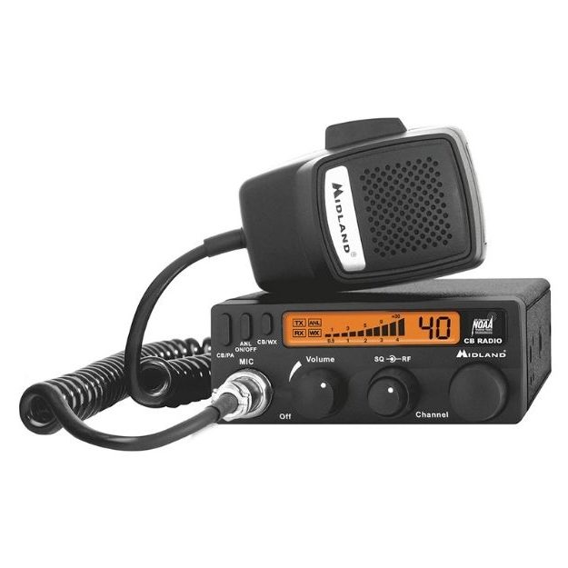Midland - 1001LWX 40 Channel Mobile CB