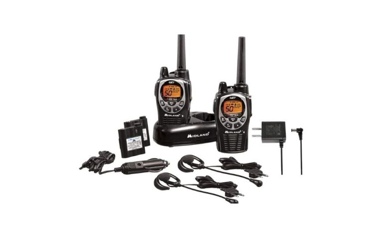 Midland - 50 Channel Waterproof GMRS Two-Way Radio