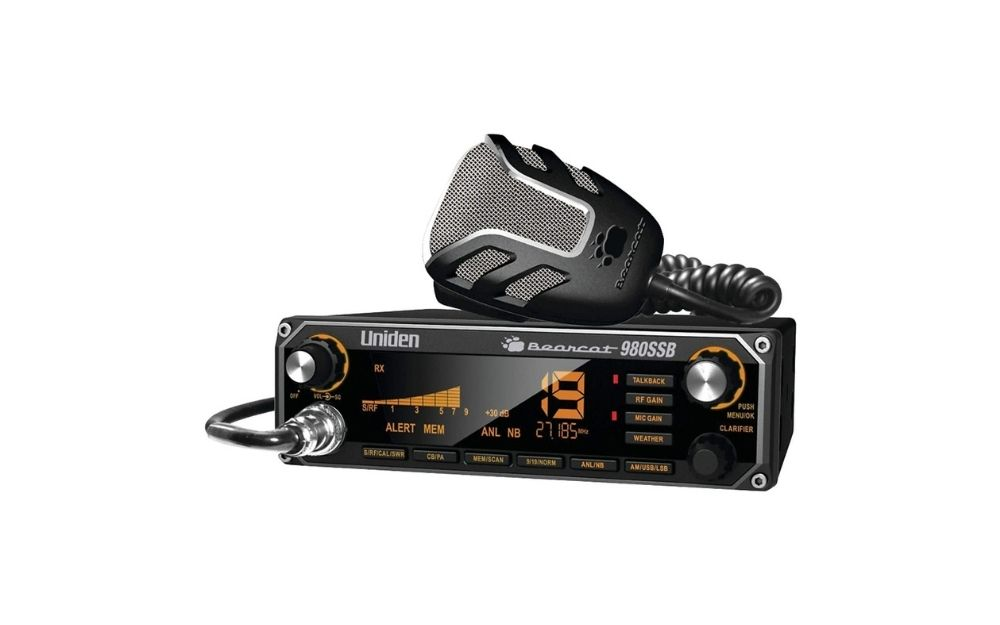 Uniden - Bearcat 980 40-Channel SSB CB Radio