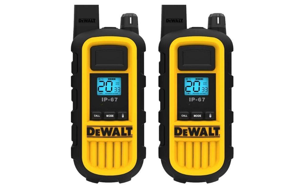 Dewalt - DXFRS800 2 Watt Heavy Duty Walkie Talkies