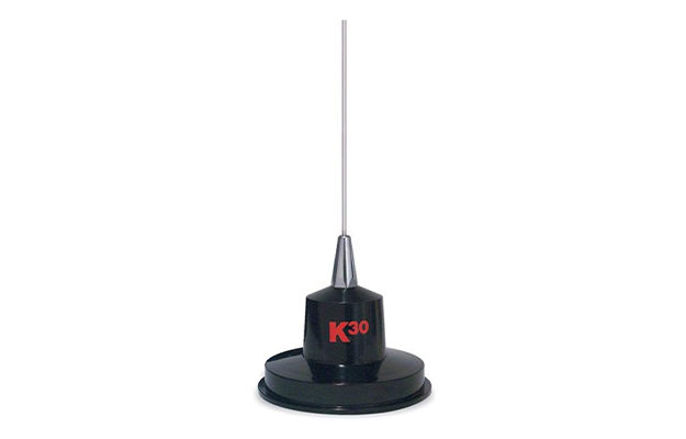 K40 Model K-30 35 Magnet Mount Stainless Steel CB Antenna