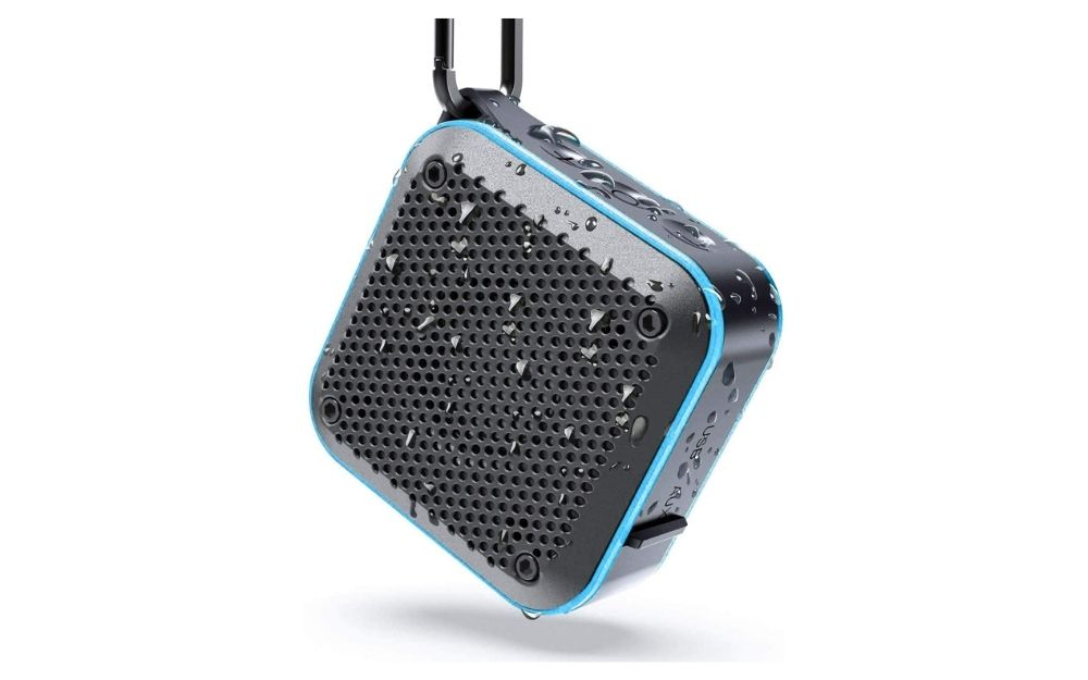 LEZII - IPX7 Waterproof Bluetooth Shower Radio Speaker
