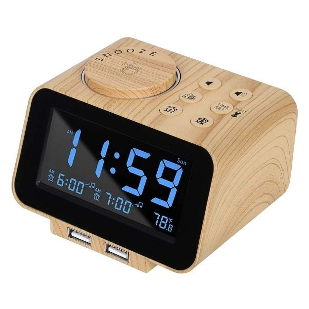 USCCE - Digital Alarm Clock Radio