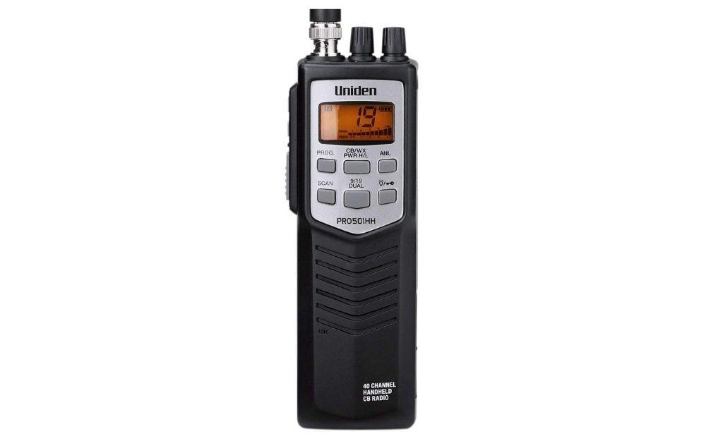 Uniden - PRO501HH Pro-Series 40-Channel Portable Handheld CB Radio