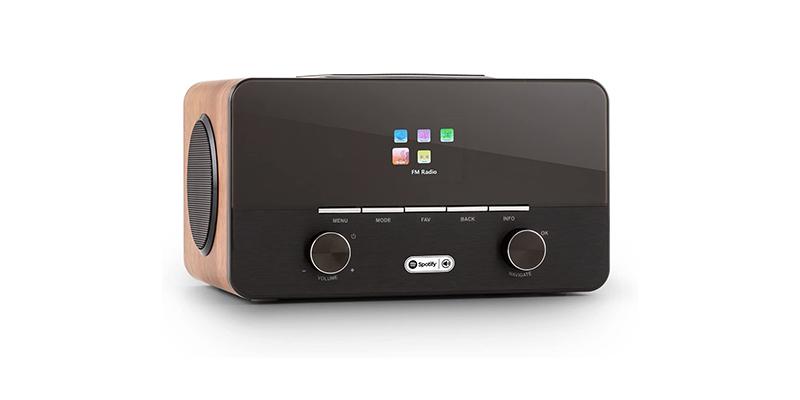 auna Connect 150 Black Walnut, 2.1 Internet Radio