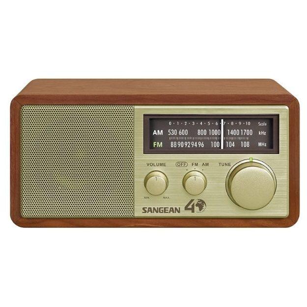 Sangean - WR-11SE AM_FM Table Top Radio